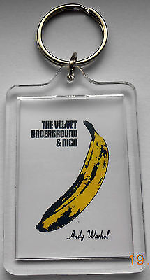 Velvet Underground  Keyring   Starz Crafts Unique Collection - Limited Edition