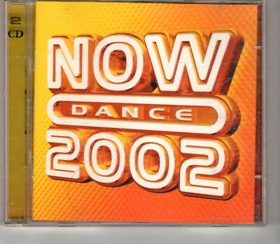 (HO192) Now Dance 2002, 44 tracks various artists - 2001 double CD