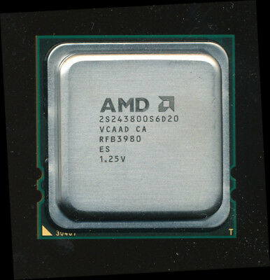 AMD 2S243800S6D20 Engineering Sample Istanbul 6-core 2.4GHz Opteron 8431 Equiv