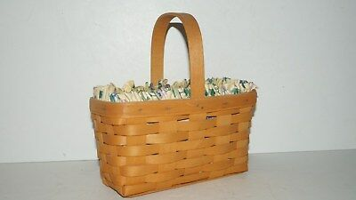 Collectible 2000 Signed Longaberger Basket