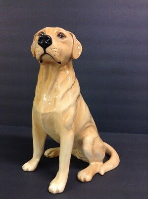 "Vintage Beswick #2314 Labrador Retriever Fireside Dog-MINT-14"" beautiful finish"