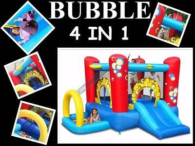 Original Happy Hop  Bubble 4 In 1 Jumping Castle And Ball Pit