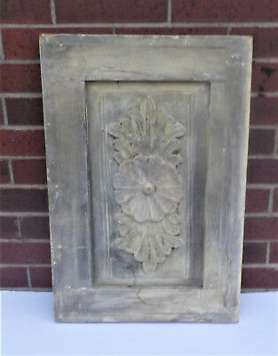 "SPANISH COLONIAL ANTIQUE WOODEN DOOR PANEL OLD MEXICO 26 5/8"" x 18"" x 1 1/2""   f"