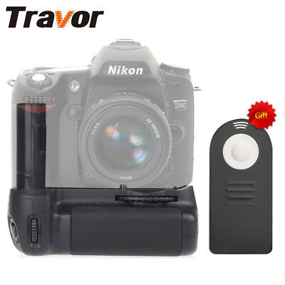 Nikon D80 D90 Battery Grip Digital Camera Replace MB-D80+IR Remote