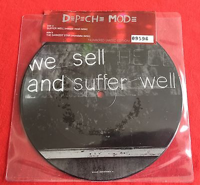 "DEPECHE MODE -Suffer Well- Rare UK 7"" Picture Disc STILL SEALED (Vinyl Record)"
