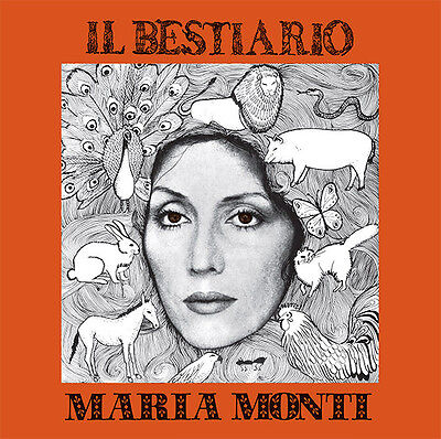 Maria Monti - Il Bestiario Holidays Records HOL 105 LP with STEVE LACY !!! NEW!!