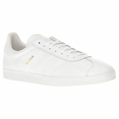 Adidas Gazelle White Mens Low Top Trainers