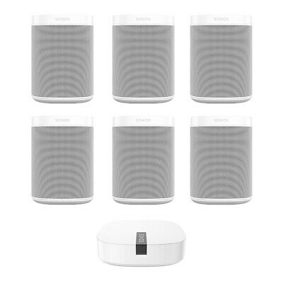 Sonos ONE Multi-Room Digital Music System with BOOST Wireless Adapter
