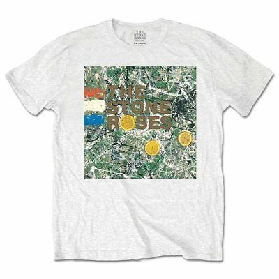 The Stone Roses T Shirt Original Album Cover Officially Licensed Mens Rock Merch