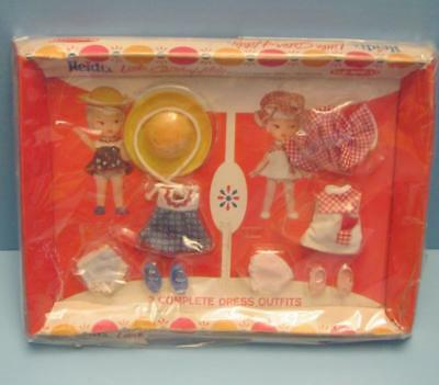 VINTAGE 1960'S  REMCO heidi doll SISTER HILDY OUTFIT NRFB