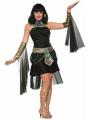 Fantasy Cleopatra Eqyptian Queen of Nile Goddess Greek Egypt Women Costume