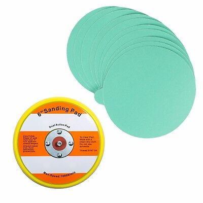 "6"" PSA Sanding Backup Pad with 10 pcs 320 grit PSA Sand Paper"