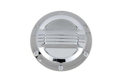 Chrome Air Flow Derby Cover fits Harley Davidson,V-Twin 42-1374