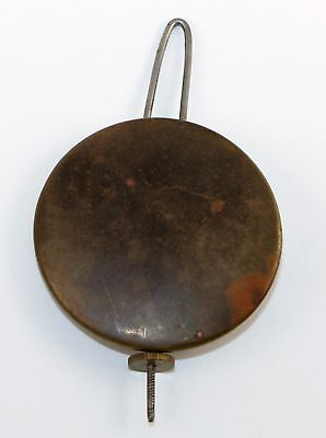 ANTIQUE 2.7 oz. PENDULUM BOB  with WIRE and NUT - KC125