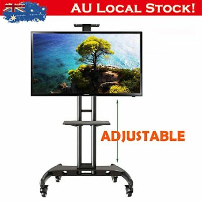 """NEW Mobile TV Stand AVA1500 Height-adjustable (32-65"""" screens up to 45kg) XT"""