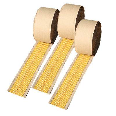 SUPER HEATBOND SEAMING CARPET JOINING TAPE 3 ROLLs