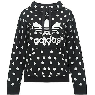 adidas trefoil hoodie damen kapuzen pullover oversize. Black Bedroom Furniture Sets. Home Design Ideas