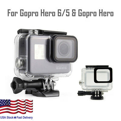 Housing Case for GoPro Hero 6/5 Black Waterproof Case Diving Protective Bracket