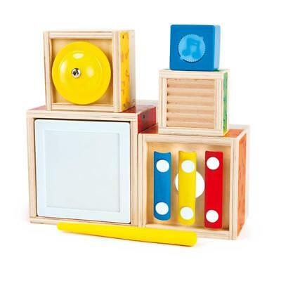 Hape MUSIQUE stapelwürfel multi Musical BLOC LOT