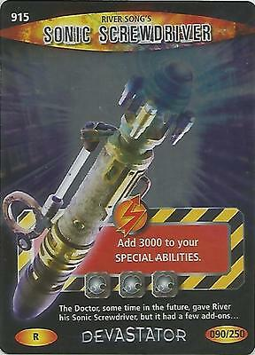 "Doctor Who Battles In Time Devastator- Rare R ""Sonic Screwdriver"" Card #915"