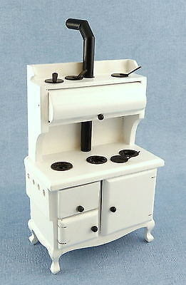 Melody Jane Dolls House Old Fashioned Victorian Cooker Stove Kitchen Furniture