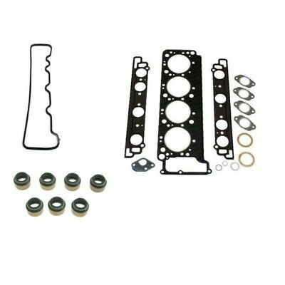 For Mercedes W126 R107 Driver Left Valve Cover Gasket /& Stem Seals w//Head Gasket