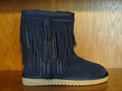 f3c5f83034b NEW! WOMENS KOOLABURRA by UGG CABLE WINTER BOOTS Navy Blue