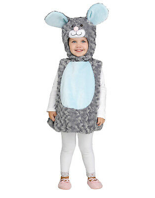 Lil Grey Mouse Unisex Toddler Fully Animal Halloween Costume