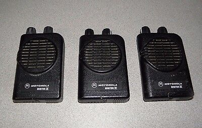 Motorola Minitor IV VHF Pagers 151-159 Mhz - Lot of 3