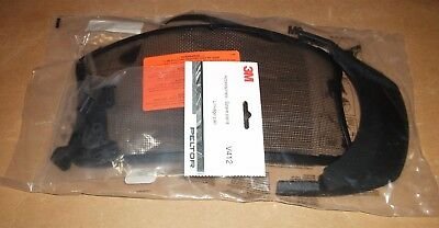 3M Peltor Multivisor Metal Mesh V4A-10 Matt Black Face Shield 093045935192
