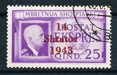 251334) dt. Bes. Albanien II. WK Nr.14 gestempelt