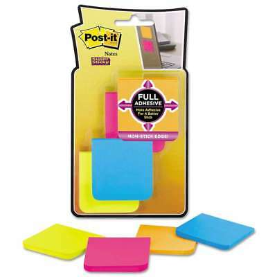 Post-it® Notes Super Sticky Full Adhesive Notes, 2 x 2, Assorted  051141355474