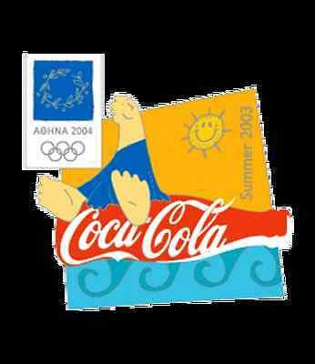 Summer 2003 Athens 2004 Coca Cola Olympic Pin