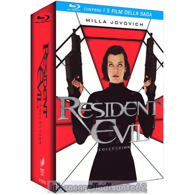 Blu-Ray - Resident evil collection (5 Dischi)