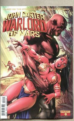 John Carter Warlord Of Mars #9-2015 nm- 9.2 Dynamite Standard cover Ed Benes