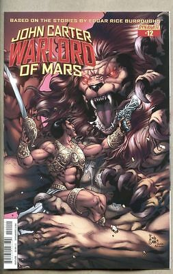 John Carter Warlord Of Mars #12-2015 nm- 9.2 Dynamite Standard cover Fritz Casas