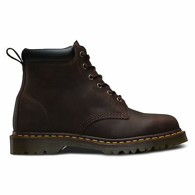 Dr.Martens Mens 939 Ben Crazy Horse 6-Eye Leather Boots