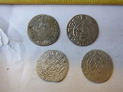 4x 124 Thaler, Old Silver Coins