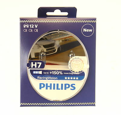 philips h7 racing vision 150 brighter headlight bulbs. Black Bedroom Furniture Sets. Home Design Ideas