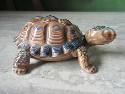 Vintage Wade Porcelain Turtle Small Covered Dish