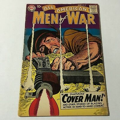 ALL AMERICAN MEN OF WAR #67 Dc Comics 1959 1st GUNNER AND SARGE Appearance VG+