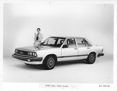 1980 Audi 5000 Turbo ORIGINAL Factory Photo oub9107