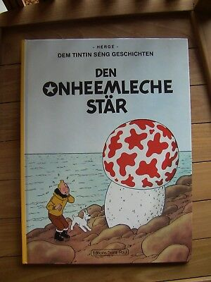 Tintin Kuifje Tim Luxembourgeois New  Hardcover Cartonne 1990