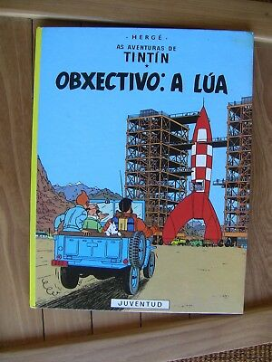Tintin Kuifje Tim Galicien Gallego Rare 1St Edition New Condition 1983 1000 Copi