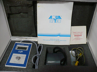 AQUALYTIC L21 DIGIMETER & Extech Oyster Economy pH Meter