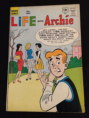 LIFE WITH ARCHIE #25 VG/VG+ Condition
