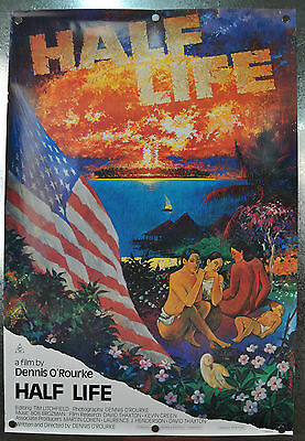 Half Life Original SS One Sheet Movie Poster 1986 27 x 40 Rolled