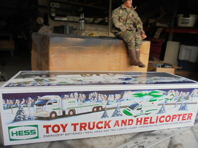 2006 Hess Toy Truck With Helicopter New In Box