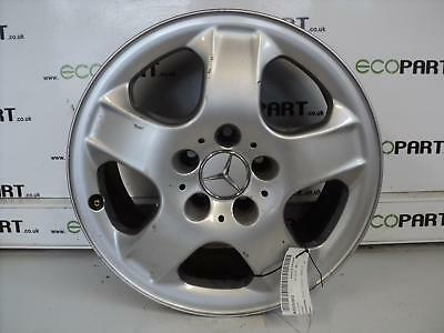 MERCEDES M CLASS Wheel 163 Series 17 Inch Alloy Wheel 5 Spoke 98 99 00 01 02 03
