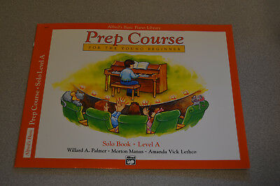 Alfreds Basic Piano Library Prep Course For The Young Beginner Solo A Book